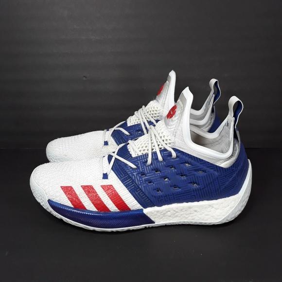 86ca2c05 Adidas Harden Vol. 2 USA Basketball Sz 13